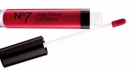 no7 high shine lipgloss