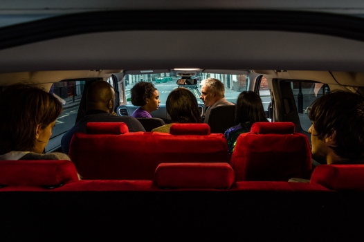 MORE TH>N introduces Papa Don't Preach, a new play written by Olivier Award-winning playwright Bola Agbaje, which takes place entirely in a car parked on Drury Lane, with the cast in the front seats and audience in the back.